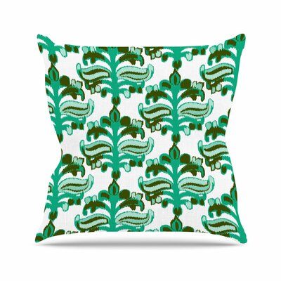 Chandelier Ikat Amy Reber Throw Pillow Size: 26