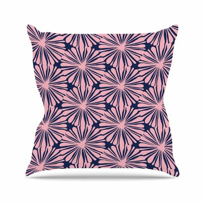 Daisy Amy Reber Throw Pillow Size: 20 H x 20 W x 4 D