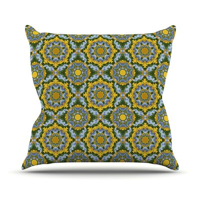 Sunflower Alison Soupcoff Throw Pillow Size: 20 H x 20 W x 4 D
