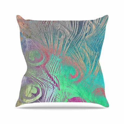 Indian Summer Alison Coxon Abstract Throw Pillow Size: 26 H x 26 W x 4 D