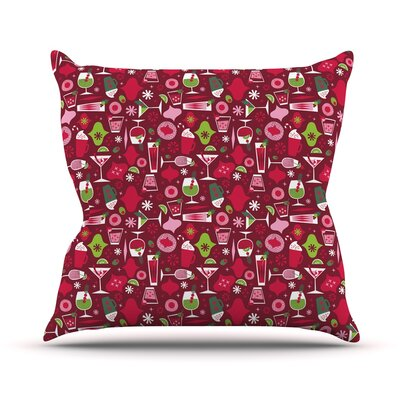 Holiday Spirits Allison Beilke Throw Pillow Size: 20 H x 20 W x 4 D