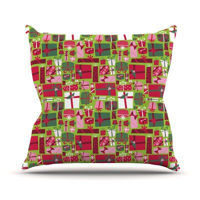 Prezzies Allison Beilke Holiday Throw Pillow Size: 20 H x 20 W x 4 D