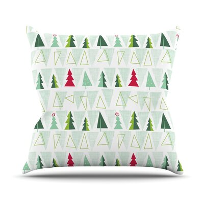 Pining for Christmas Allison Beilke Holiday Throw Pillow Size: 20 H x 20 W x 4 D