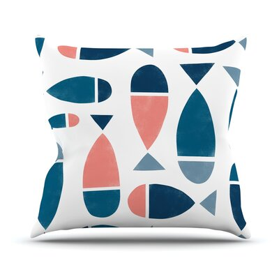 Fish Alik Arzoumanian Throw Pillow
