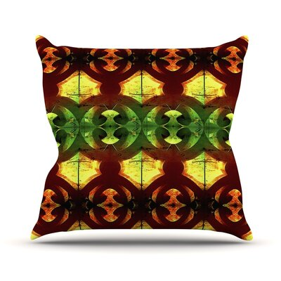 Tribal Marsala Anne LaBrie Throw Pillow