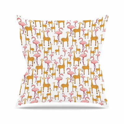 Summer Alisa Drukman Throw Pillow