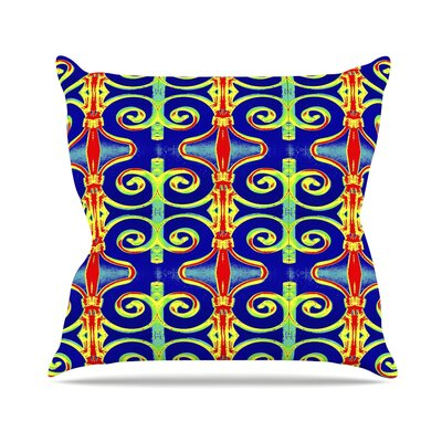 Swirl Away Anne LaBrie Throw Pillow