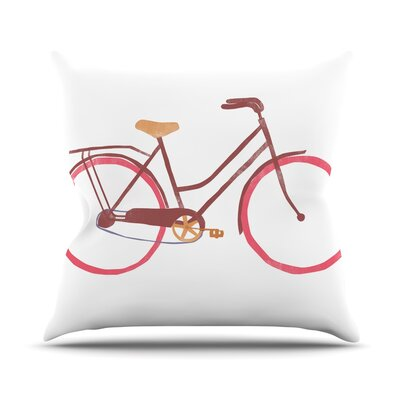 Bike Alik Arzoumanian Throw Pillow