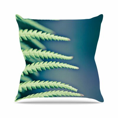 Castaway Ann Barnes Throw Pillow Size: 18 H x 18 W x 4 D