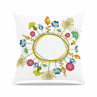 Flo Alisa Drukman Throw Pillow