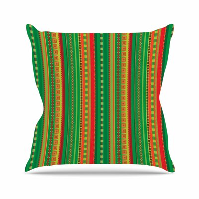 Coastal Allison Soupcoff Throw Pillow