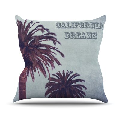 California Dreams Ann Barnes Throw Pillow
