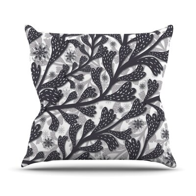 Snow Houses by Akwaflorell Throw Pillow Size: 26 H x 26 W x 5 D