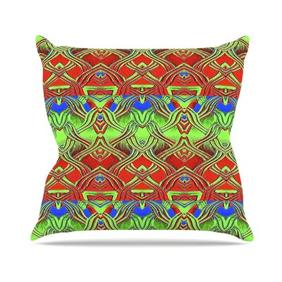 Mystic Flow Anne LaBrie Throw Pillow