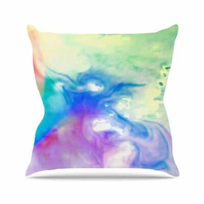 Flow Alison Coxon Throw Pillow