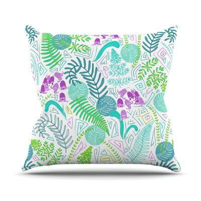 Fern Forest Anneline Sophia Throw Pillow