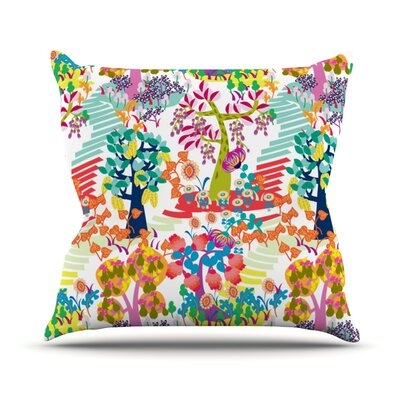 Fruit of the Earth Agnes Schugardt Throw Pillow