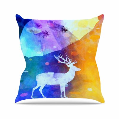 Rain Deer AlyZen Moonshadow Throw Pillow