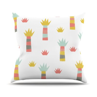 Tropical by Alik Arzoumanian Throw Pillow
