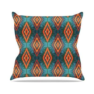 Diamond Sea Anne LaBrie Throw Pillow