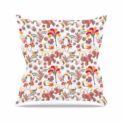 Fairy Forest Alisa Drukman Throw Pillow