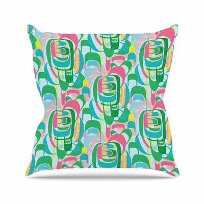 Geometric Amy Reber Throw Pillow