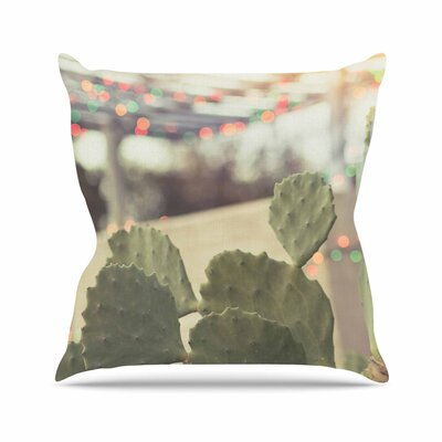 Austin Summer Party Ann Barnes Throw Pillow