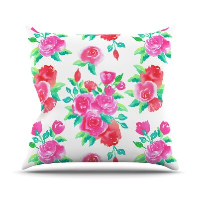 Roses Anneline Sophia Throw Pillow