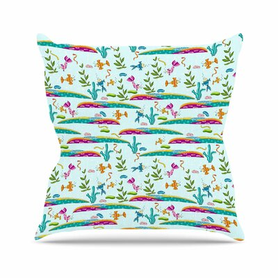 Under Sea Alisa Drukman Throw Pillow