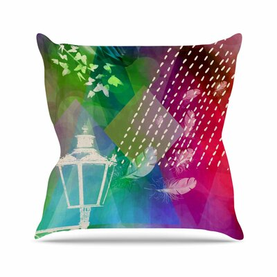 Escape AlyZen Moonshadow Throw Pillow