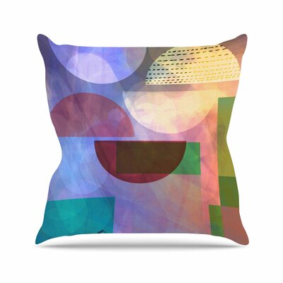 Baying at the Moon AlyZen Moonshadow Throw Pillow