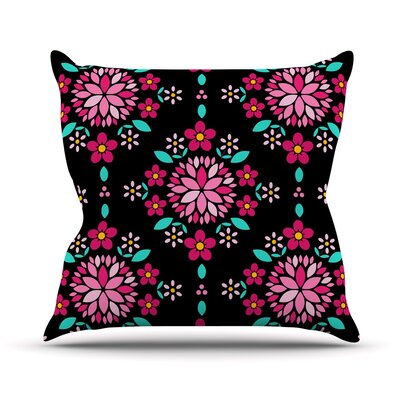 Dahlia Mandala Anneline Sophia Throw Pillow