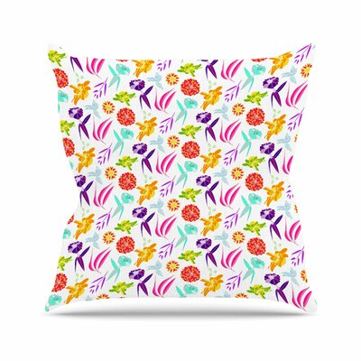 Iris Anchobee Throw Pillow