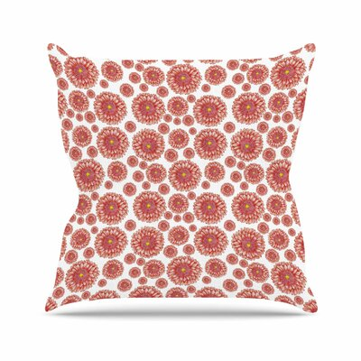 Flowers Gerbera Alisa Drukman Throw Pillow