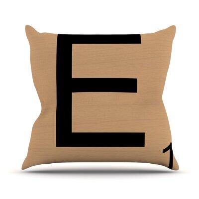 Love Letters Euro Pillow Size: 16 H x 16 W x 4 D