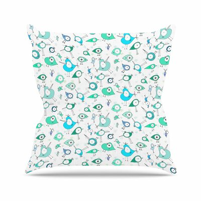 Birdies Anchobee Throw Pillow