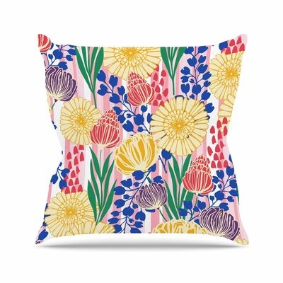 Pretty Bouquet Amy Reber Throw Pillow