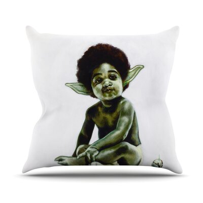 Ready to JEDI Jared Yamahata Throw Pillow Size: 20 H x 20 W x 4 D