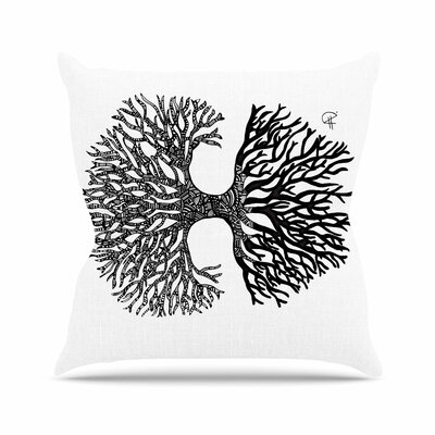 The Tree of Life Adriana De Leon Throw Pillow