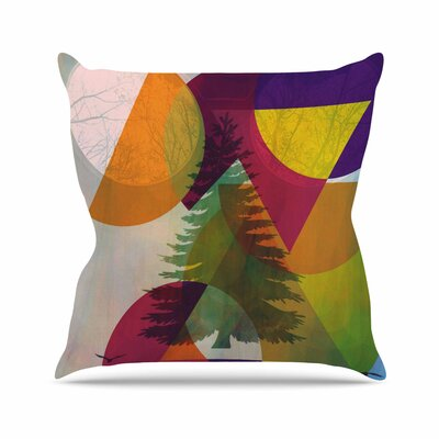 Hidden Face AlyZen Moonshadow Throw Pillow