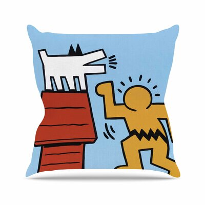 Hearing-Schulz Jared Yamahata Throw Pillow Size: 16 H x 16 W x 4 D