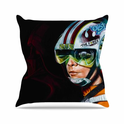 Awakened Jared Yamahata Throw Pillow Size: 26 H x 26 W x 4 D