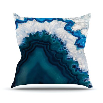 Geode Throw Pillow Size: 26 H x 26 W x 4 D