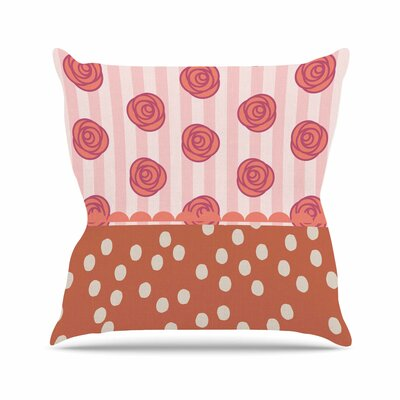 Mismatch Bohemian Pellerina Design Throw Pillow Size: 20 H x 20 W x 4 D