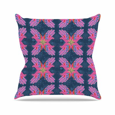Hamsa Jane Smith Throw Pillow Size: 16 H x 16 W x 4 D