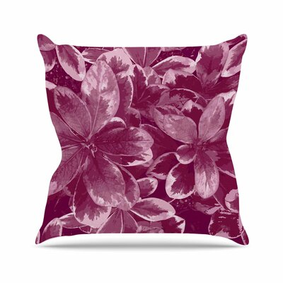Warm Leaves Julia Grifol Throw Pillow Size: 16 H x 16 W x 4 D
