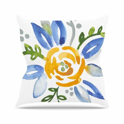 Buttercup Jennifer Rizzo Throw Pillow Size: 18 H x 18 W x 4 D