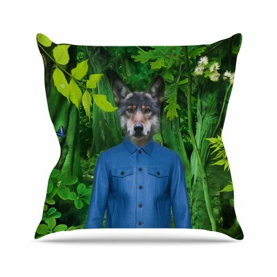 Into the Leaves N3 Natt Throw Pillow Size: 26 H x 26 W x 4 D