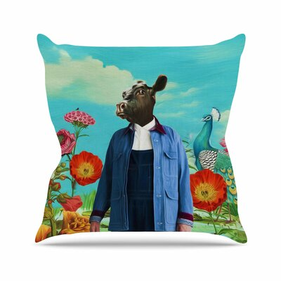 Family Portrait N2 Natt Throw Pillow Size: 26 H x 26 W x 4 D