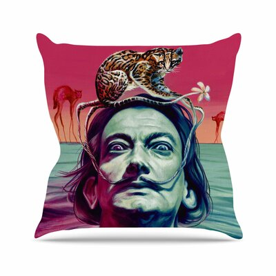 Babou Jared Yamahata Throw Pillow Size: 18 H x 18 W x 4 D
